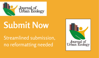 The Urban Ecology Journal Back Issues